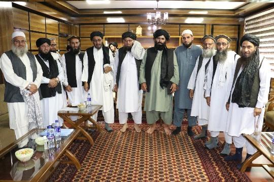 Ahl-e-Hadith clerics announce allegiance to Islamic Emirate in Nangarhar