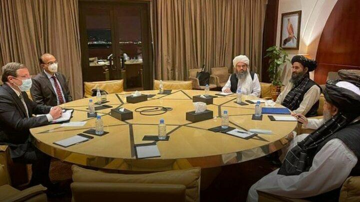 Mullah Baradar meets administrator of UNDP