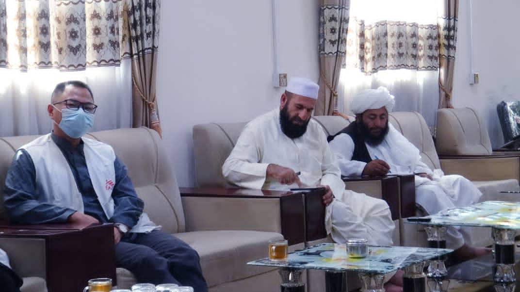 MSF officials meet public health authorities of Helmand