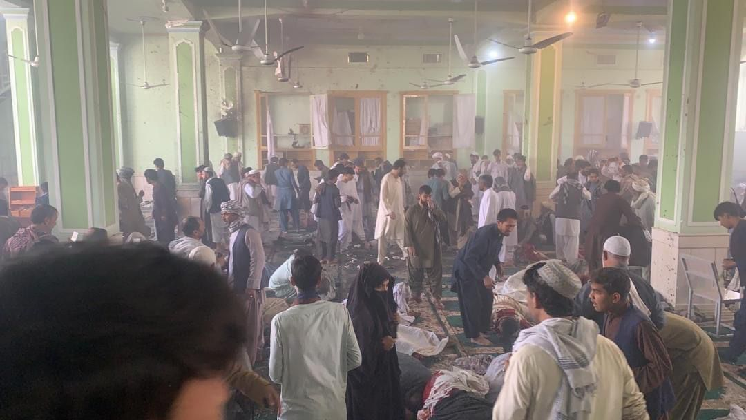 32 killed, 70 injured in suicide attack targeting Shiite mosque in Kandahar