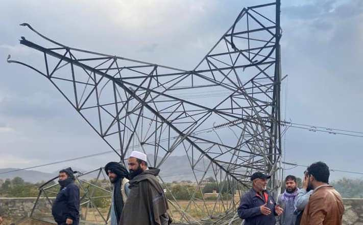 IS-K claims responsibility for blow up power pylon in Kabul