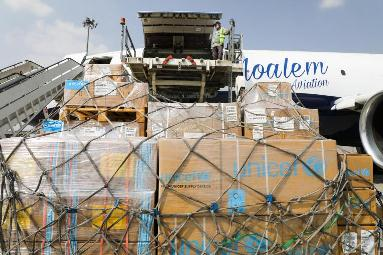 UNICEF provides 32 tons of assistance to Afghanistan