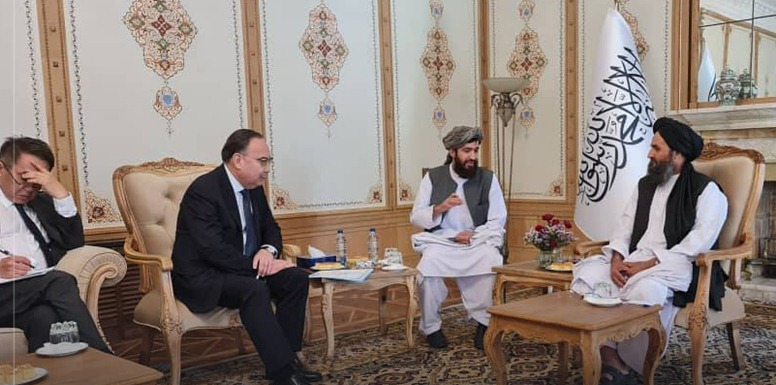 Kazakhstan president's special representative calls on Mullah Baradar
