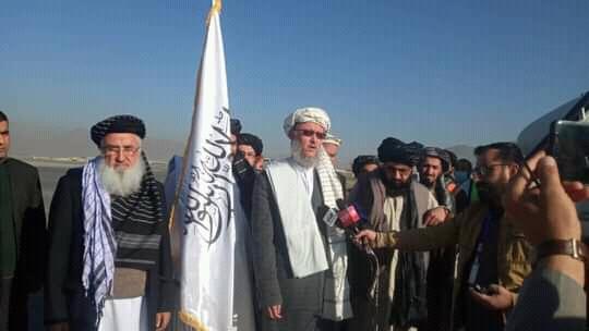 Afghan delegation returns from Uzbekistan to Kabul