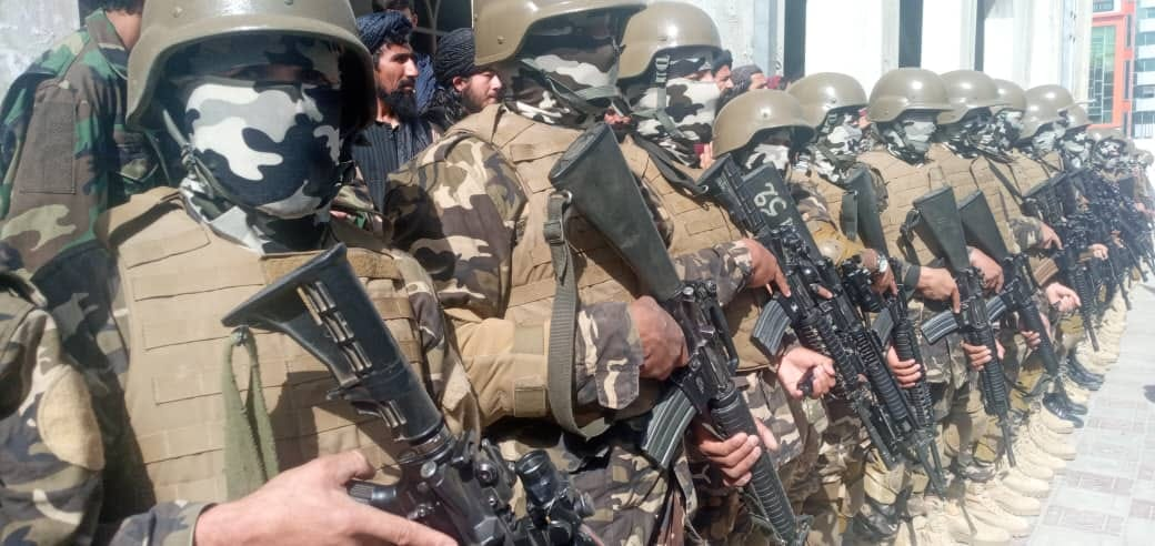 150 pass out security personnel from Takhar training centre