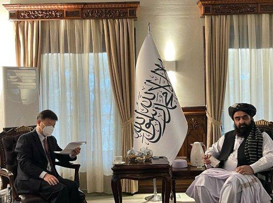 China's ambassador calls on FM Muttaqi